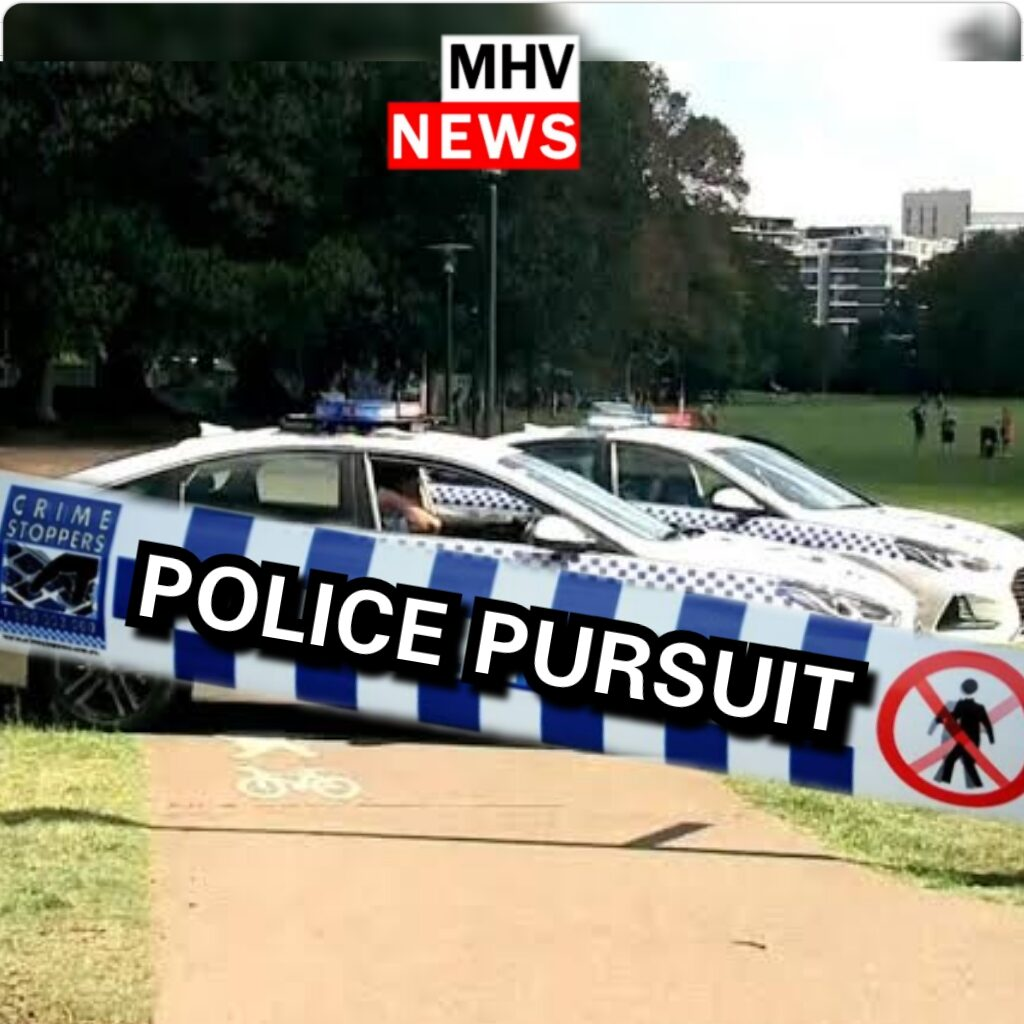Two men arrested after a dangerous high speed pursuit through the streets of Raymond Terrace