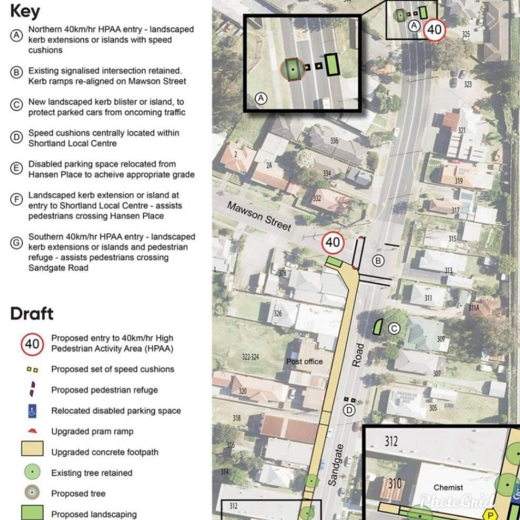 Newcastle have your say – Shortland Pedestrian Safety