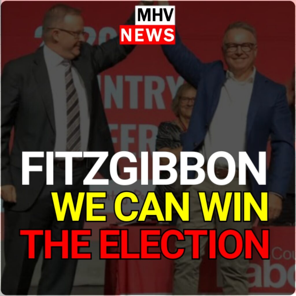 JOEL FITZGIBBON CONFIDENT THAT LABOR CAN WIN THE NEXT THE ELECTION