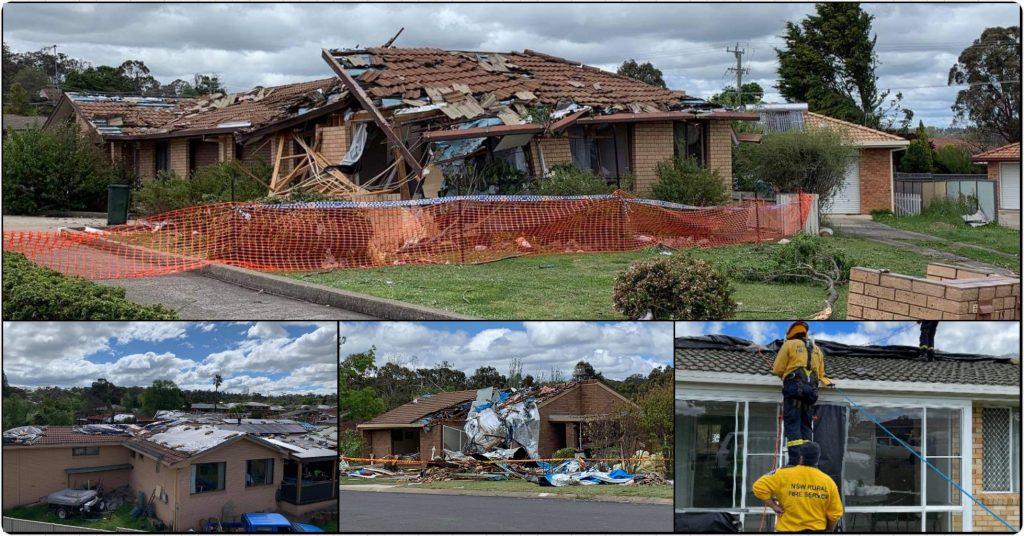 HUNTER VALLEY RFS CREWS HEAD TO ARMIDALE AFTER DEVASTATING TORNADO