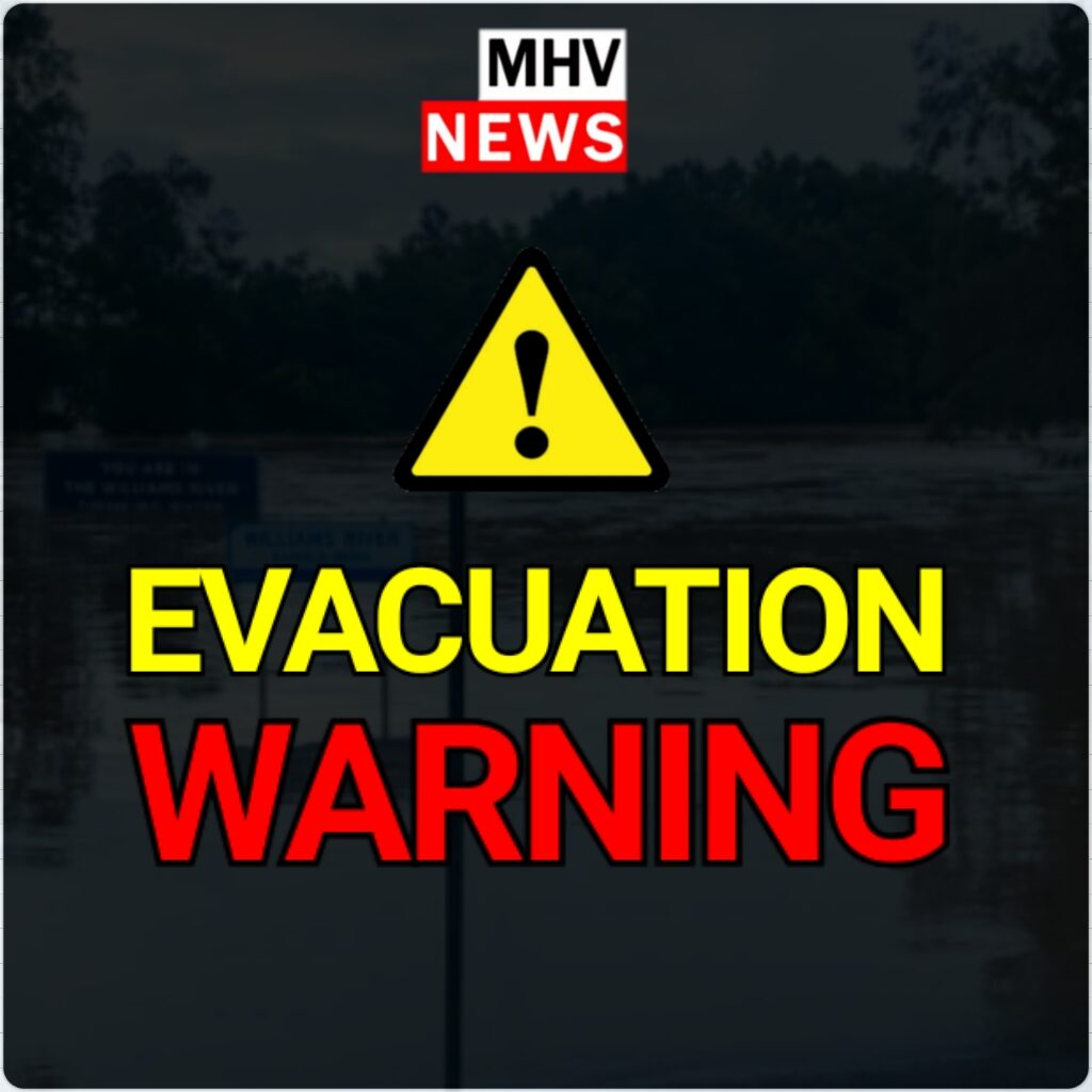 EVACUATION WARNING – SINGLETON