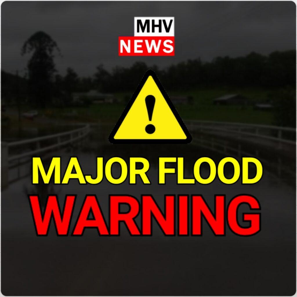MAJOR FLOOD WARNING – Wollombi Brook