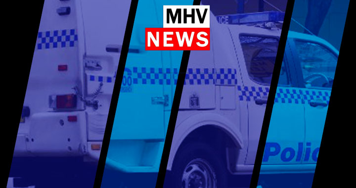 Man arrested after barricading himself inside a Hamiton  house with two young children.